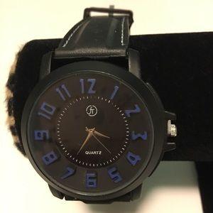 Watch Quartz ford Men color black